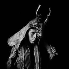Hombre-Nahual. Guatemala. 1993.  Flor Garduño