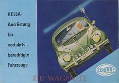 VW - 1960 - Hella Ausrüstung für vorfahrtsberechtigte Fahrzeuge - 274/10/60 G - [9559]-1