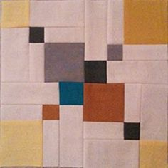 Avant Garde Double Disappearing Nine Patch - quilting tutorial by Christina Cameli from A Few Scraps