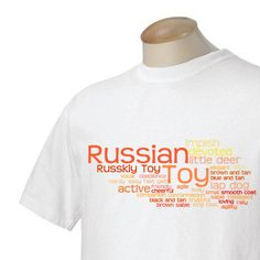 Russian Toy Garment Dyed Cotton Tshirt by WryToastDesigns on Etsy, $25.00