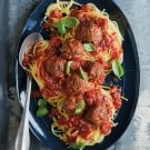 Try the Slow-Cooker Meatballs with Tomato Ragu Recipe on williams-sonoma.com/