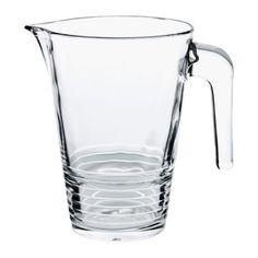 IKEA VÄNLIG Jug, Clear Glass 1l Ikea http://www.amazon.co.uk/dp/B00BFCJYQ8/ref=cm_sw_r_pi_dp_DdQnwb0GJ27Z6