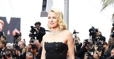Naomi Watts in a Ralph Lauren gown at a screening of the film Mad Max: Fury Road at Cannes 2015