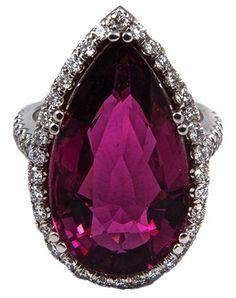 ▶◀の☀ Pink Tourmaline Ring