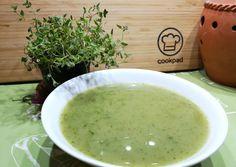 Burgonyakrémleves újhagyma zöldjével   S mint Sanyi receptje - Cookpad receptek Sanya, Cantaloupe, Fruit