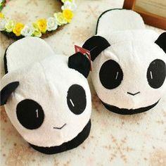 Millffy plush panda animal slippers lovely plush toy slipper plush funny slippers plush indoor panda slipper
