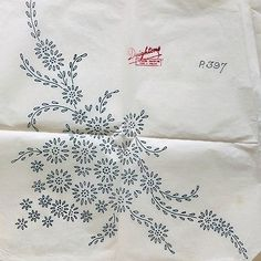 Vintage iron on embroidery transfer- large floral monogram letter Z monogramme Hand Embroidery Patterns Flowers, Hand Embroidery Videos, Iron On Embroidery, Embroidery Transfers, Hand Embroidery Stitches, Crewel Embroidery, Hand Embroidery Designs, Vintage Embroidery, Machine Embroidery