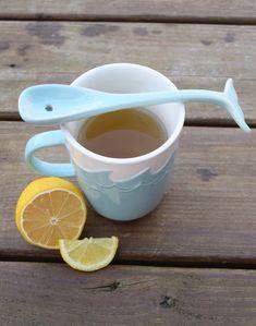 Splish Splash Whale Mug with Whale Tail Stirrer