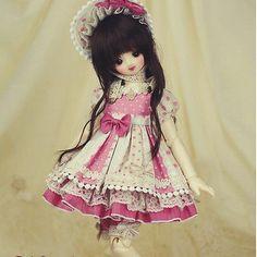 【1 4】 011 Verbena A 3pcs Set Outfits Lace Clothes BJD SD   eBay
