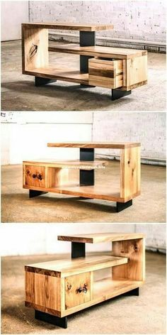 Stylish Pallet Wood DIY Ideas And Crafts diypalletideas is part of Wood pallet furniture Give your home sweet home a stylish look and appealing beauty by crafting some attractive DIY pallet crafts - Wooden Pallet Furniture, Wooden Pallets, Wooden Diy, Rustic Furniture, Diy Furniture, Pallet Wood, Office Furniture, Pallet Walls, Victorian Furniture