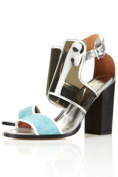 RAVER Perspex Metallic Sandals – @Topshop #LustList