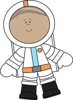 space clip art | Boy Astronaut Clip Art Image - little boy astronaut wearing a space ...