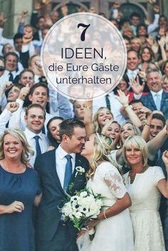 Gebt Euren Gästen das Gefühl, dass sich bei der Hochzeitsfeier auch alles um sie dreht. Dann wird Euer großer Tag unvergesslich!