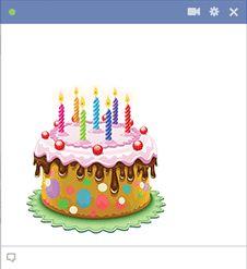 Image gateau anniversaire pour facebook