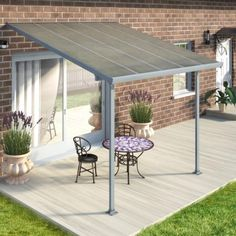 Adding A Permanent Roof To Your Patio Cover Allows You To