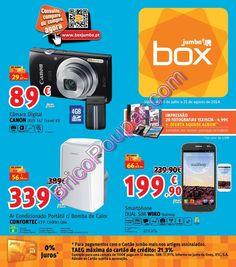 Promoções Jumbo Box - Antevisão Folheto de 18 de julho a 21 de agosto