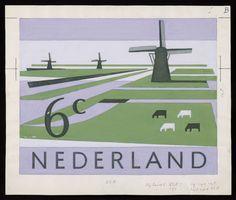 Aangepast ontwerp voor postzegels Nederland 1962, Rein Draijer