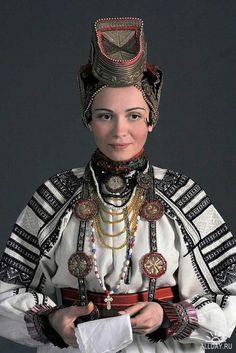 Russia. Costume tradizionale russo. Русский национальный костюм (JPG)