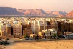 Shibam – The Manhattan of the Desert. So amazing!!