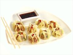 Shrimp Siu Mai (Dumplings) Video : Food Network - FoodNetwork.com
