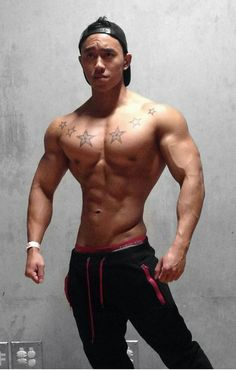 Gay muscle stud