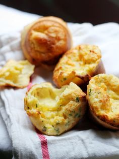 Cheddar Chive Popovers
