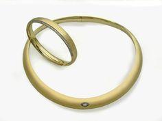 Gold Halsreifen - 4070/10B