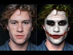 How to look like the Joker, Heath Ledger style - YouTube