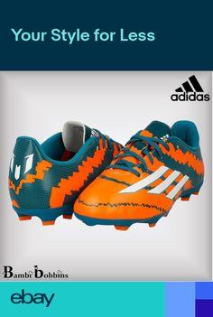 a2b15751430 Adidas MESSI 10.3 FG Junior Boys Girls Football Boots Size UK 5 5.5 Ladies