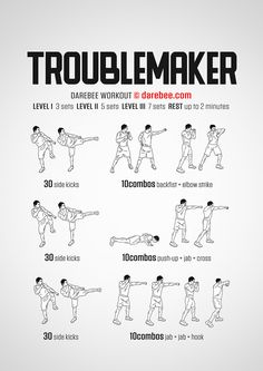 Troublemaker Workout