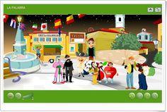"""""""La palabra"""" (Vocabulario de Educación Primaria) Spanish Class, Family Guy, School, Fun, Character, Videos, Teaching Resources, Adverbs, Spanish Language"""