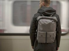 Commuter Backpack by PKG | Bringing the backpack into the high-tech, digital age.