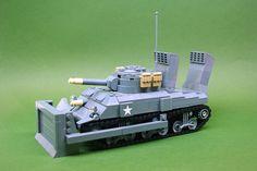 M4A1 105mm Sherman Dozer tank - V2 (1) | Flickr - Photo Sharing!