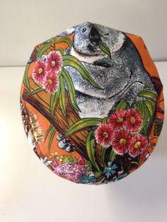 Summer cap- Koala | Serena Lindeman Millinery Summer Cap, Men's Hats, Hats For Men