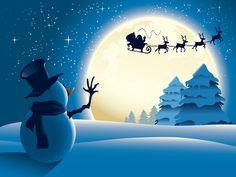 Winter Christmas Wallpaper - WallpaperSafari