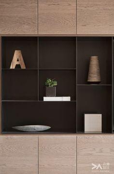 40 Ideas for wood design shelf bookshelves Bookshelf Design, Bookshelves, Bookcase, Joinery Details, Muebles Living, Display Shelves, Corner Shelves, Wall Shelves, Cabinet Design