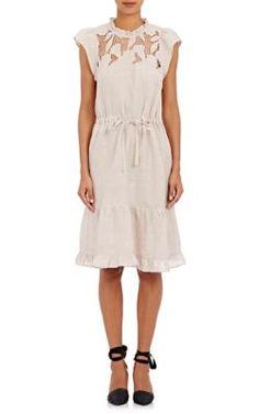 Ulla Johnson Amelie Lace-Inset Dress at Barneys New York