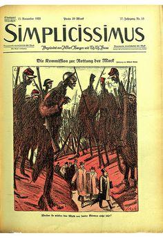 Simplicissimus. 18 octobre 1922. Coll. BDIC