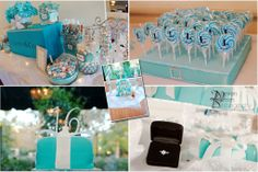 Tiffany Blue Sweet Sixteen Decorations | sweet sixteen