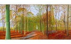 David Hockney to reveal more than 100 new paintings of Yorkshire ...