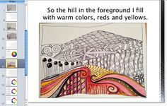 This project-based Doodle Landscape lesson is a great way to teach students about the Elements of Art. It is fun and easy for every student to be successful. $
