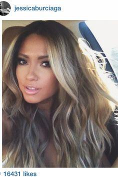 Jessica Burciaga hair