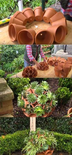 Best DIY Garden Globe Ideas & Designs For 2019 – We offer lifelong healthy lifestyles. From each other natural healthy lifestyles to you, diet exercise sports, all and more are here on a daily Best DIY Garden Globe Ideas & Designs For 2019 – We … Garden Crafts, Diy Garden Decor, Garden Projects, Diy Projects, Creative Garden Ideas, Garden Ideas Diy, Garden Theme, Succulents Garden, Garden Pots