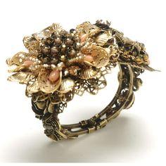 Flower Garden Corsage Cuff | Miriam Haskell