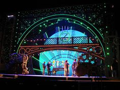 Wicked  The Touring Company Set  Set Designer : Eugene Lee (Ragtime & Pirate Queen)