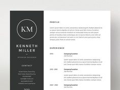 Elisabeth Lewis  ResumeCv Template By Graphicsauthor  Resume