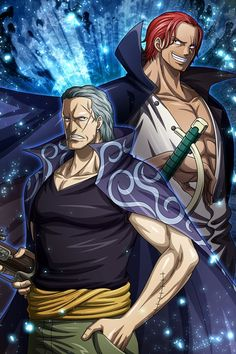 Shanks and Ben Beckman O Anime & Manga Poster Print One Piece Movies, One Piece Meme, Zoro One Piece, Roronoa Zoro, Red Hair Shanks, One Piece Bounties, Arte Do Harry Potter, Es Der Clown, Bad Drawings