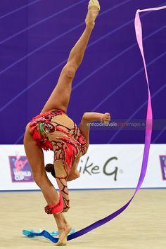 Alexandra SOLDATOVA (Russia)🇷🇺 ~ Ribbon @ World Cup Pesaro-Italy🇮🇹 04/'17 😍😍 📸 🇮🇹Enrico Della Valle.