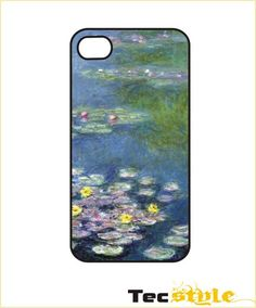 iPhone Case / iPhone Cover 4 / 4s or 5 - Monet - Water Lilies op Etsy, 9,85 €