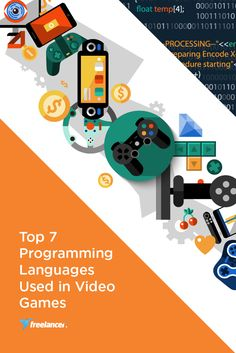 Top 7 Programming Languages Used in Video Games  #softwaredevelopment #software #PHP #freelancer #freelancing #onlinejobs #softwaredesign